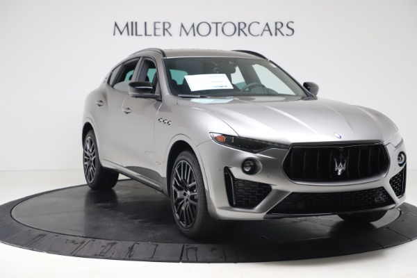 New 2020 Maserati Levante S Q4 GranSport for sale $102,285 at Rolls-Royce Motor Cars Greenwich in Greenwich CT 06830 11