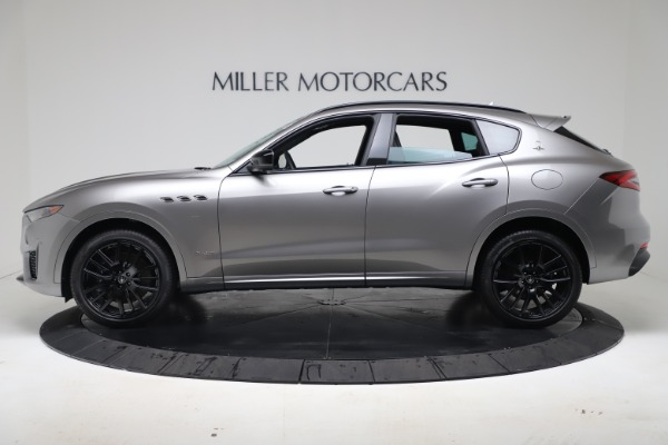 New 2020 Maserati Levante S Q4 GranSport for sale $102,285 at Rolls-Royce Motor Cars Greenwich in Greenwich CT 06830 3