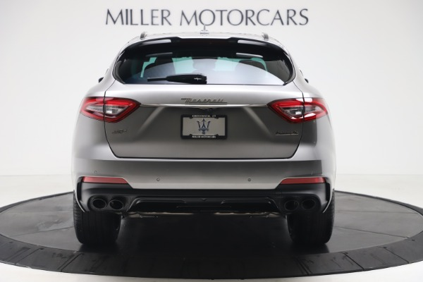 New 2020 Maserati Levante S Q4 GranSport for sale $102,285 at Rolls-Royce Motor Cars Greenwich in Greenwich CT 06830 6