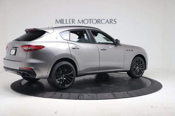 New 2020 Maserati Levante S Q4 GranSport for sale $102,285 at Rolls-Royce Motor Cars Greenwich in Greenwich CT 06830 8