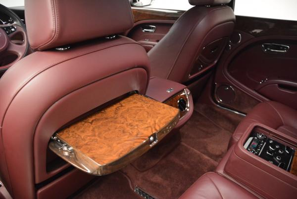 Used 2011 Bentley Mulsanne for sale Sold at Rolls-Royce Motor Cars Greenwich in Greenwich CT 06830 20