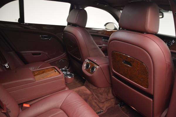Used 2011 Bentley Mulsanne for sale Sold at Rolls-Royce Motor Cars Greenwich in Greenwich CT 06830 28