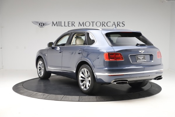 Used 2017 Bentley Bentayga W12 for sale Sold at Rolls-Royce Motor Cars Greenwich in Greenwich CT 06830 5