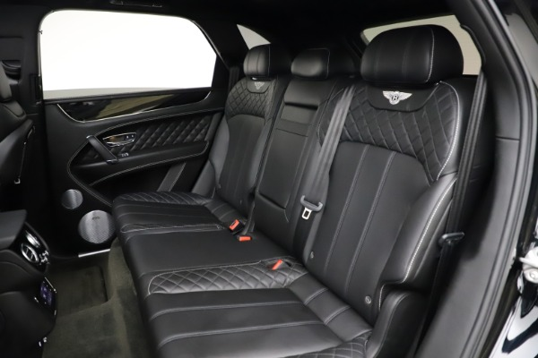 Used 2017 Bentley Bentayga W12 for sale $139,900 at Rolls-Royce Motor Cars Greenwich in Greenwich CT 06830 23