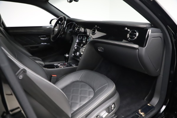 Used 2016 Bentley Mulsanne Speed for sale $156,900 at Rolls-Royce Motor Cars Greenwich in Greenwich CT 06830 26