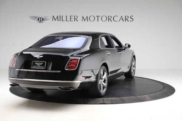 Used 2016 Bentley Mulsanne Speed for sale $156,900 at Rolls-Royce Motor Cars Greenwich in Greenwich CT 06830 6