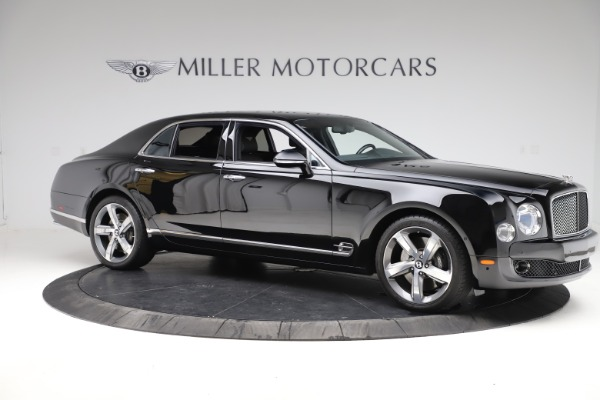 Used 2016 Bentley Mulsanne Speed for sale $156,900 at Rolls-Royce Motor Cars Greenwich in Greenwich CT 06830 9