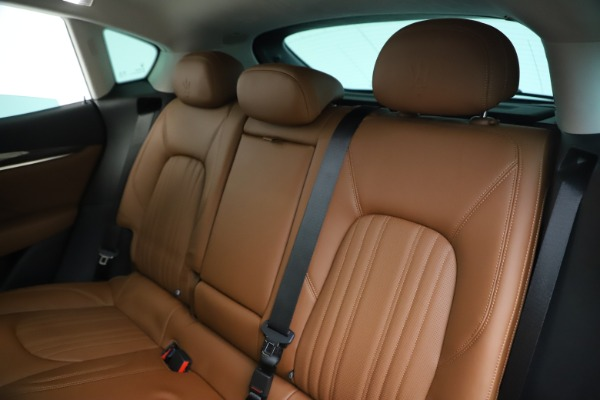New 2020 Maserati Levante S Q4 GranLusso for sale $83,659 at Rolls-Royce Motor Cars Greenwich in Greenwich CT 06830 18