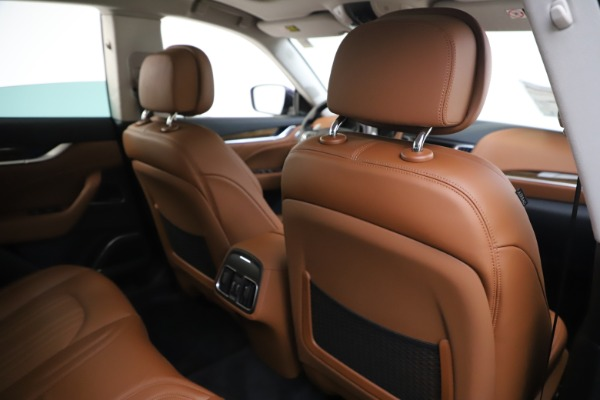 New 2020 Maserati Levante S Q4 GranLusso for sale $83,659 at Rolls-Royce Motor Cars Greenwich in Greenwich CT 06830 28