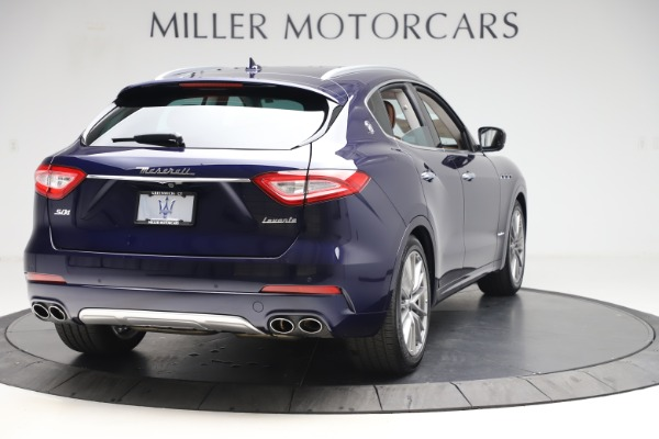 New 2020 Maserati Levante S Q4 GranLusso for sale $83,659 at Rolls-Royce Motor Cars Greenwich in Greenwich CT 06830 7