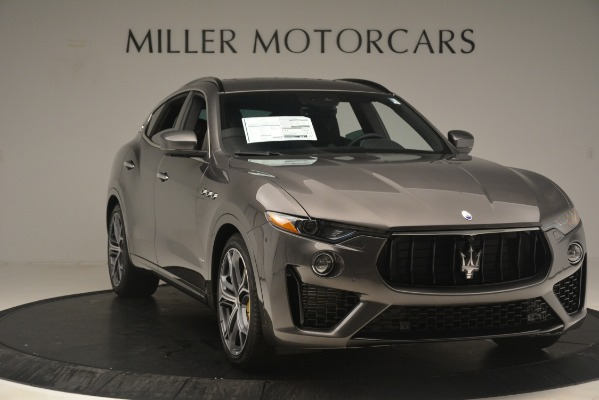 New 2020 Maserati Levante S Q4 GranSport for sale $101,585 at Rolls-Royce Motor Cars Greenwich in Greenwich CT 06830 11