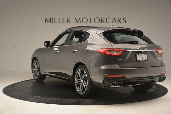 New 2020 Maserati Levante S Q4 GranSport for sale $101,585 at Rolls-Royce Motor Cars Greenwich in Greenwich CT 06830 5