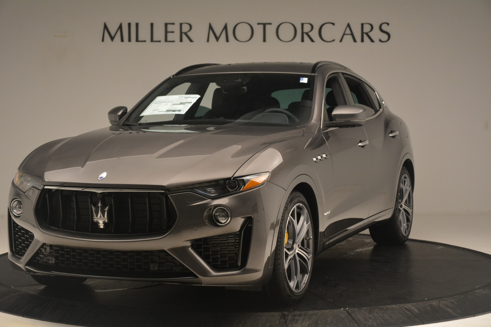 New 2020 Maserati Levante S Q4 GranSport for sale $101,585 at Rolls-Royce Motor Cars Greenwich in Greenwich CT 06830 1