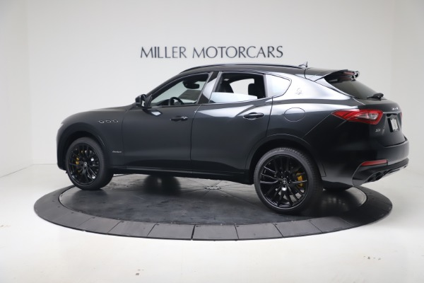 New 2020 Maserati Levante S Q4 GranSport for sale $106,585 at Rolls-Royce Motor Cars Greenwich in Greenwich CT 06830 4