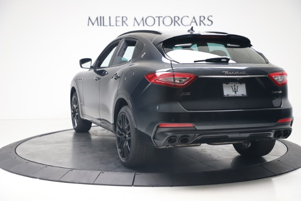 New 2020 Maserati Levante S Q4 GranSport for sale $106,585 at Rolls-Royce Motor Cars Greenwich in Greenwich CT 06830 5