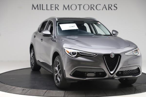 New 2019 Alfa Romeo Stelvio Ti Q4 for sale $51,090 at Rolls-Royce Motor Cars Greenwich in Greenwich CT 06830 11