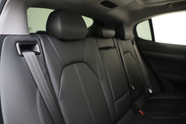 New 2019 Alfa Romeo Stelvio Ti Q4 for sale $51,090 at Rolls-Royce Motor Cars Greenwich in Greenwich CT 06830 26
