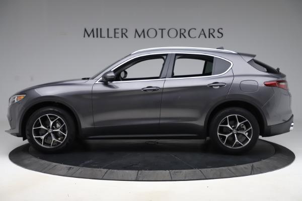 New 2019 Alfa Romeo Stelvio Ti Q4 for sale $51,090 at Rolls-Royce Motor Cars Greenwich in Greenwich CT 06830 3