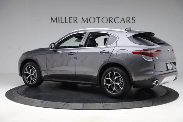 New 2019 Alfa Romeo Stelvio Ti Q4 for sale $51,090 at Rolls-Royce Motor Cars Greenwich in Greenwich CT 06830 4