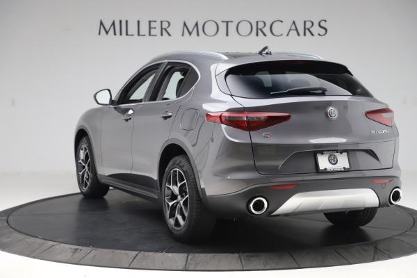 New 2019 Alfa Romeo Stelvio Ti Q4 for sale $51,090 at Rolls-Royce Motor Cars Greenwich in Greenwich CT 06830 5