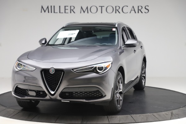 New 2019 Alfa Romeo Stelvio Ti Q4 for sale $51,090 at Rolls-Royce Motor Cars Greenwich in Greenwich CT 06830 1
