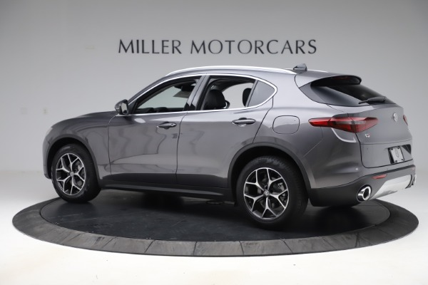 New 2019 Alfa Romeo Stelvio Ti Q4 for sale Sold at Rolls-Royce Motor Cars Greenwich in Greenwich CT 06830 4