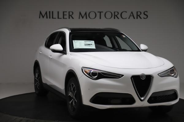 New 2019 Alfa Romeo Stelvio Ti Q4 for sale $51,490 at Rolls-Royce Motor Cars Greenwich in Greenwich CT 06830 11