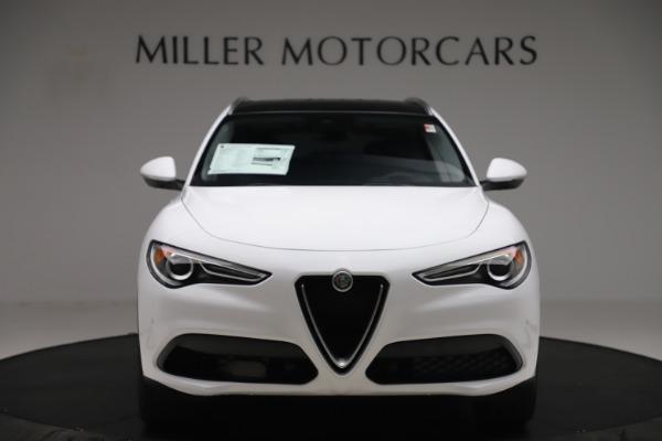 New 2019 Alfa Romeo Stelvio Ti Q4 for sale $51,490 at Rolls-Royce Motor Cars Greenwich in Greenwich CT 06830 12