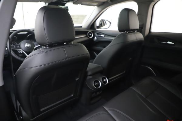 New 2019 Alfa Romeo Stelvio Ti Q4 for sale $51,490 at Rolls-Royce Motor Cars Greenwich in Greenwich CT 06830 20