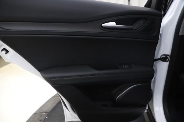 New 2019 Alfa Romeo Stelvio Ti Q4 for sale $51,490 at Rolls-Royce Motor Cars Greenwich in Greenwich CT 06830 21