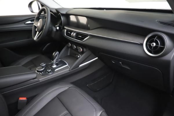 New 2019 Alfa Romeo Stelvio Ti Q4 for sale $51,490 at Rolls-Royce Motor Cars Greenwich in Greenwich CT 06830 22