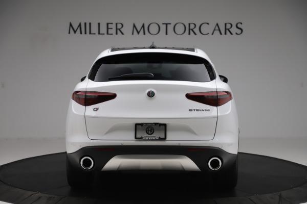 New 2019 Alfa Romeo Stelvio Ti Q4 for sale $51,490 at Rolls-Royce Motor Cars Greenwich in Greenwich CT 06830 6