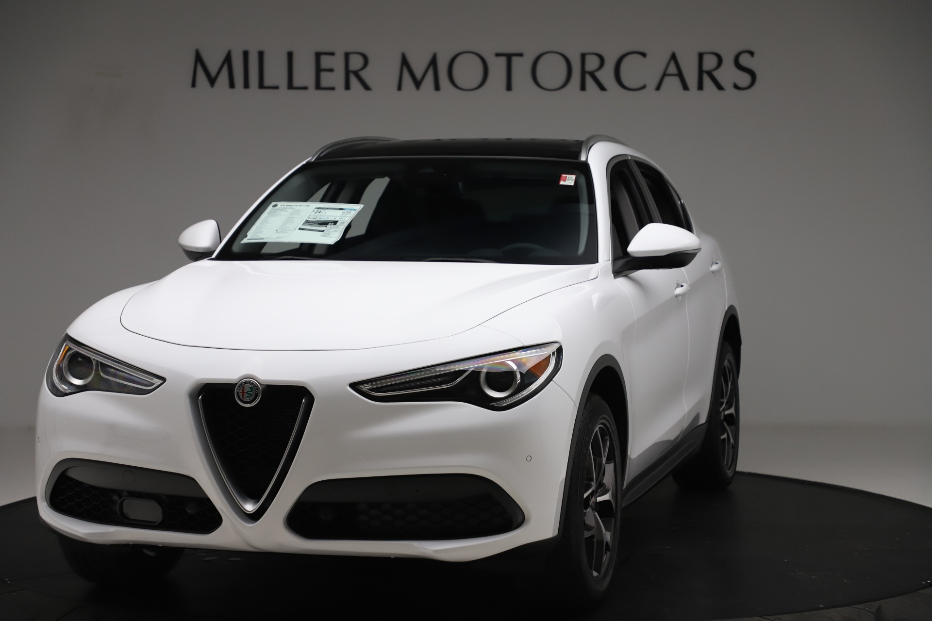 New 2019 Alfa Romeo Stelvio Ti Q4 for sale $51,490 at Rolls-Royce Motor Cars Greenwich in Greenwich CT 06830 1