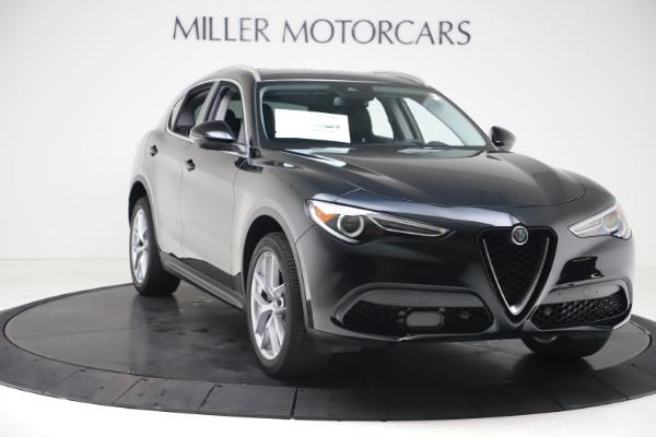 New 2019 Alfa Romeo Stelvio Ti Q4 for sale $51,840 at Rolls-Royce Motor Cars Greenwich in Greenwich CT 06830 11