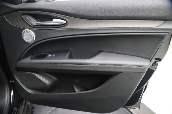 New 2019 Alfa Romeo Stelvio Ti Q4 for sale $51,840 at Rolls-Royce Motor Cars Greenwich in Greenwich CT 06830 25