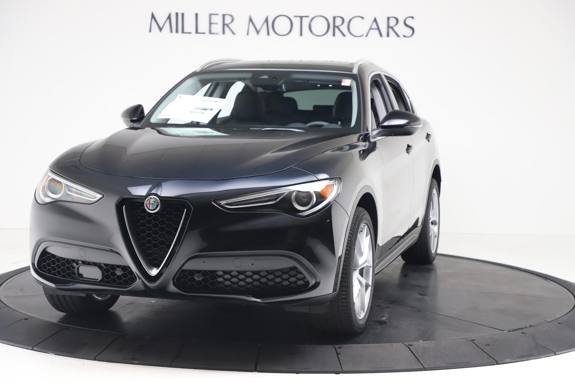 New 2019 Alfa Romeo Stelvio Ti Q4 for sale $51,840 at Rolls-Royce Motor Cars Greenwich in Greenwich CT 06830 1