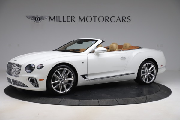 New 2020 Bentley Continental GTC V8 for sale $279,560 at Rolls-Royce Motor Cars Greenwich in Greenwich CT 06830 2