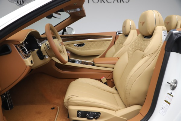 New 2020 Bentley Continental GTC V8 for sale $279,560 at Rolls-Royce Motor Cars Greenwich in Greenwich CT 06830 28
