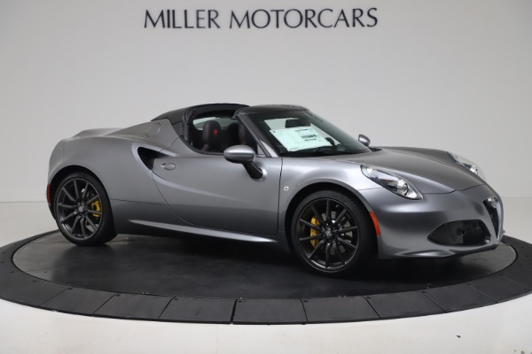 New 2020 Alfa Romeo 4C Spider for sale $78,795 at Rolls-Royce Motor Cars Greenwich in Greenwich CT 06830 10