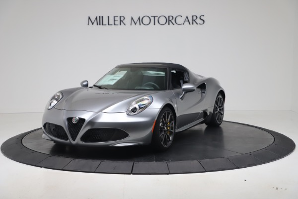 New 2020 Alfa Romeo 4C Spider for sale $78,795 at Rolls-Royce Motor Cars Greenwich in Greenwich CT 06830 12