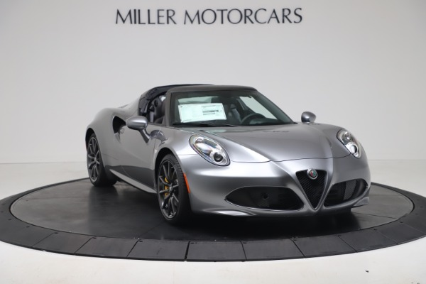 New 2020 Alfa Romeo 4C Spider for sale $78,795 at Rolls-Royce Motor Cars Greenwich in Greenwich CT 06830 15