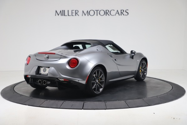 New 2020 Alfa Romeo 4C Spider for sale $78,795 at Rolls-Royce Motor Cars Greenwich in Greenwich CT 06830 16