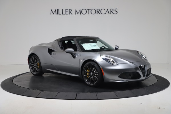 New 2020 Alfa Romeo 4C Spider for sale $78,795 at Rolls-Royce Motor Cars Greenwich in Greenwich CT 06830 18