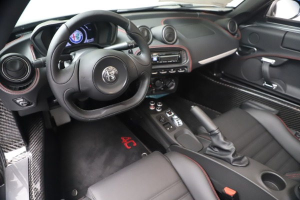 New 2020 Alfa Romeo 4C Spider for sale $78,795 at Rolls-Royce Motor Cars Greenwich in Greenwich CT 06830 19