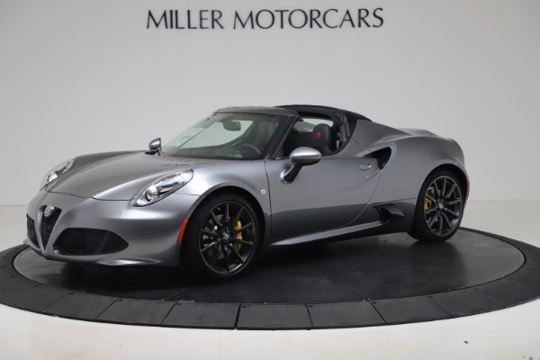 New 2020 Alfa Romeo 4C Spider for sale $78,795 at Rolls-Royce Motor Cars Greenwich in Greenwich CT 06830 2