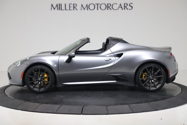 New 2020 Alfa Romeo 4C Spider for sale $78,795 at Rolls-Royce Motor Cars Greenwich in Greenwich CT 06830 3