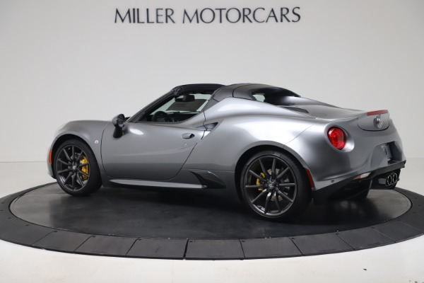 New 2020 Alfa Romeo 4C Spider for sale $78,795 at Rolls-Royce Motor Cars Greenwich in Greenwich CT 06830 4