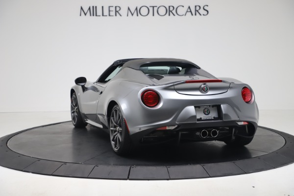 New 2020 Alfa Romeo 4C Spider for sale $78,795 at Rolls-Royce Motor Cars Greenwich in Greenwich CT 06830 5