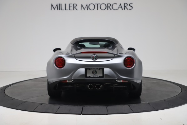 New 2020 Alfa Romeo 4C Spider for sale $78,795 at Rolls-Royce Motor Cars Greenwich in Greenwich CT 06830 6