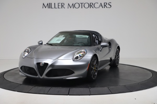 New 2020 Alfa Romeo 4C Spider for sale $78,795 at Rolls-Royce Motor Cars Greenwich in Greenwich CT 06830 1